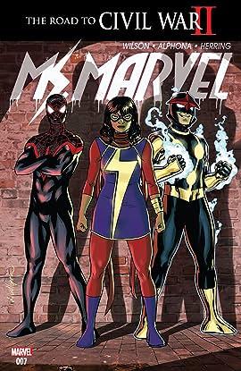 Ms. Marvel (2015-2019) #7