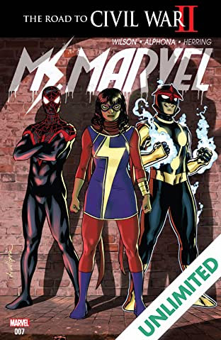 Ms. Marvel (2015-2019) #7