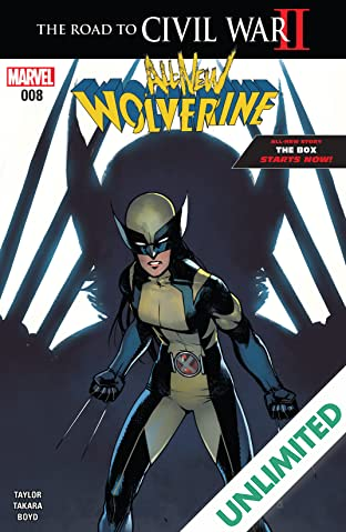 All-New Wolverine (2015-) #8
