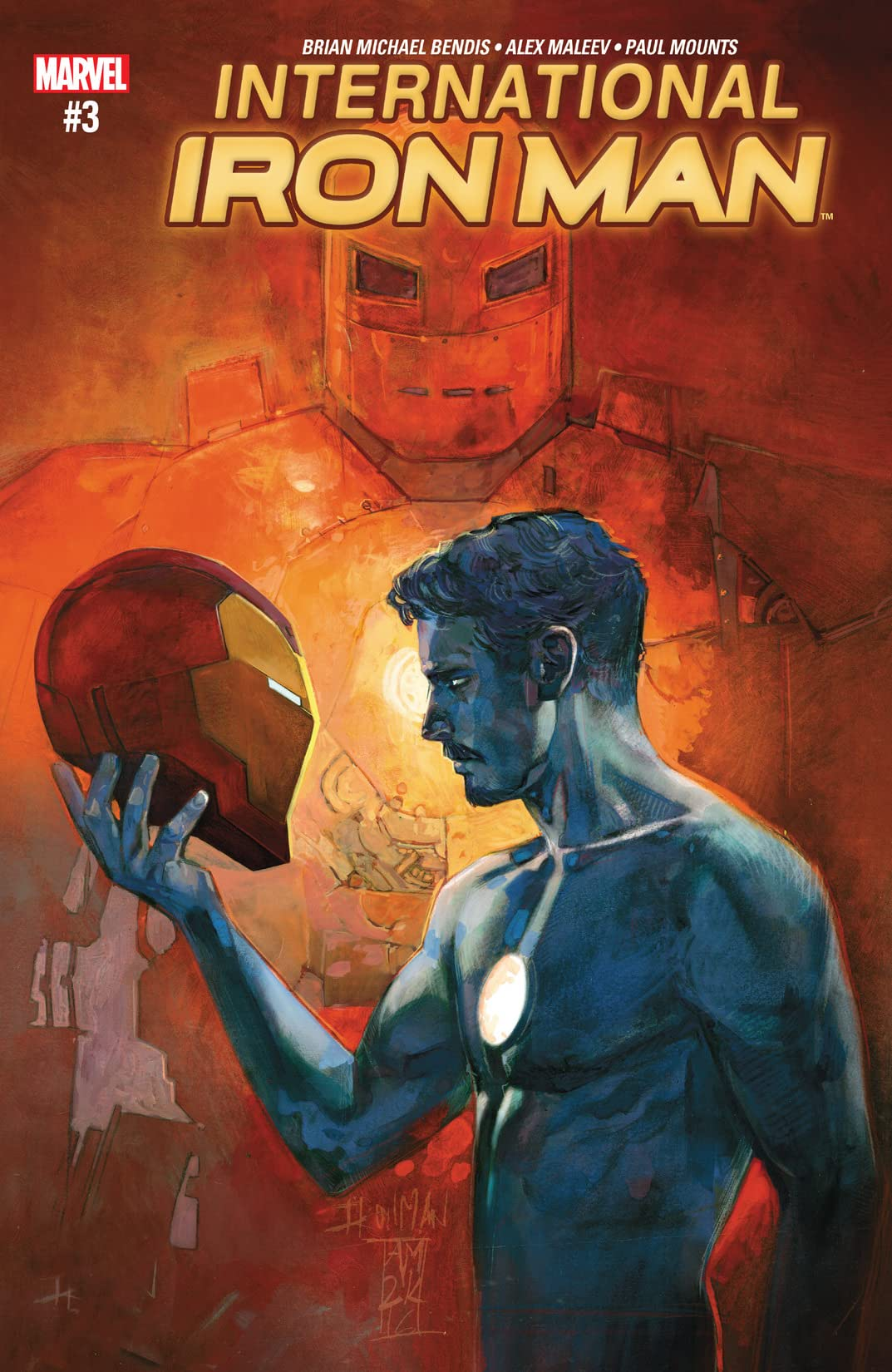 International Iron Man (2016) #3