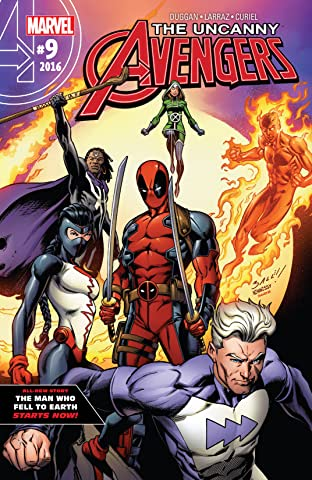 Uncanny Avengers (2015-2017) No.9