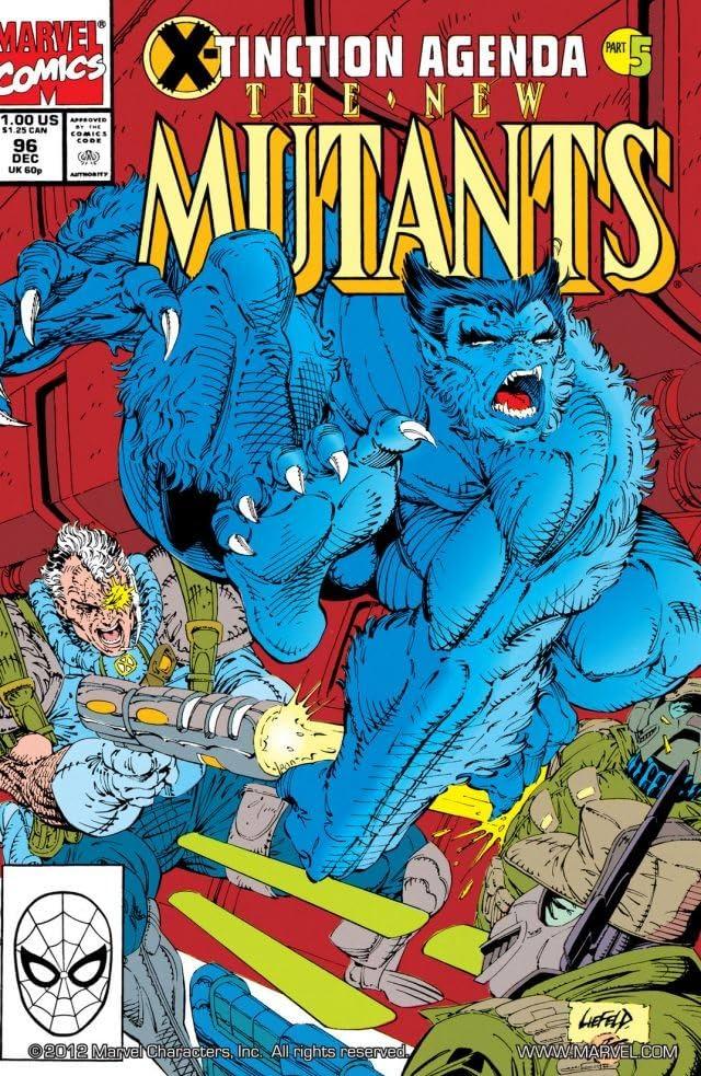 New Mutants (1983-1991) #96