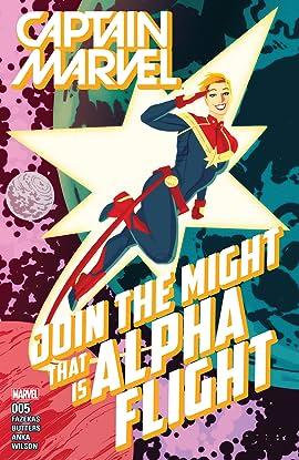 Captain Marvel (2016) #5
