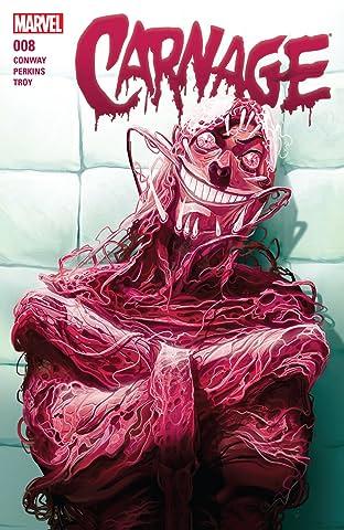 Carnage (2015-2017) #8