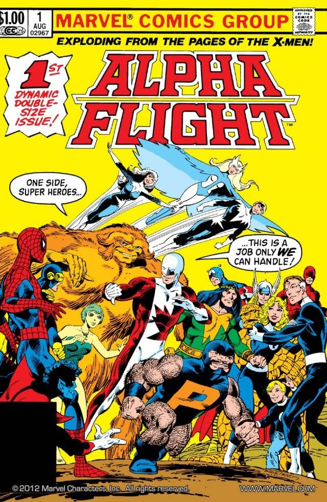 Alpha Flight (1983-1994) #1