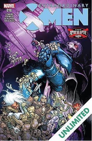 Extraordinary X-Men (2015-2017) #10