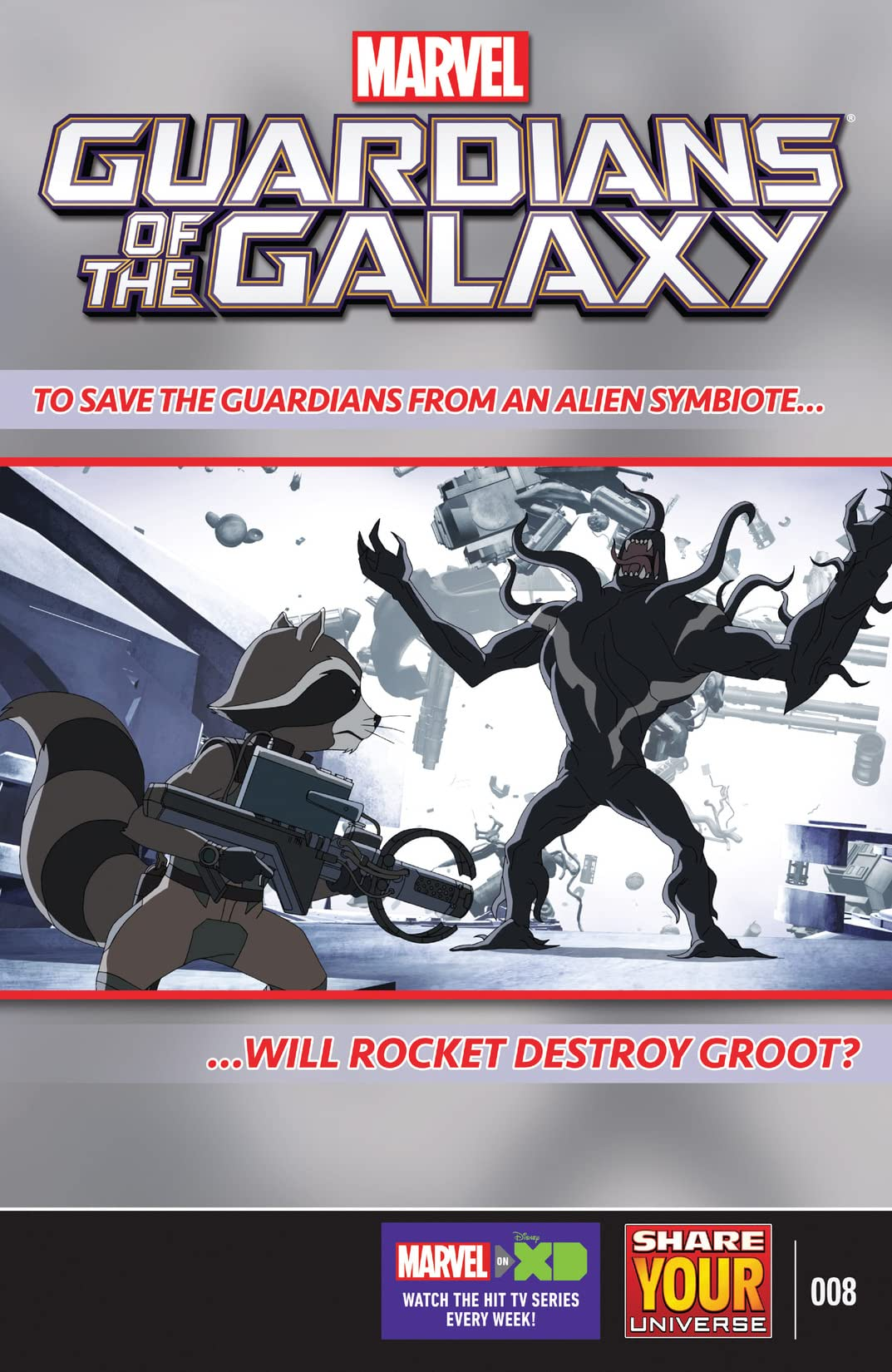 Marvel Universe Guardians of the Galaxy (2015-) #8