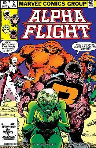 Alpha Flight (1983-1994) #2