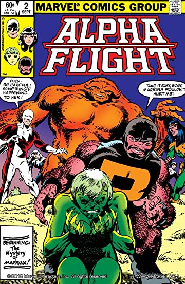 Alpha Flight (1983-1994) No.2