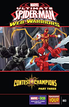 Marvel Universe Ultimate Spider-Man: Contest of Champions (2016) #3