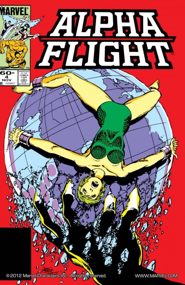Alpha Flight (1983-1994) #4