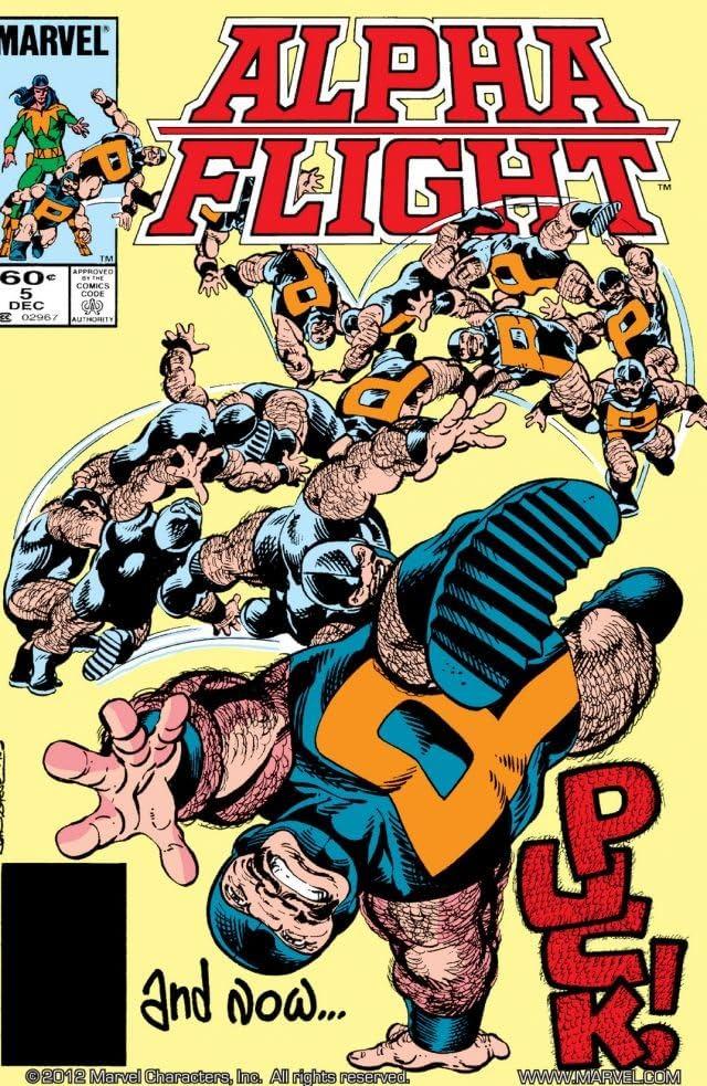 Alpha Flight (1983-1994) #5