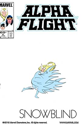 Alpha Flight (1983-1994) #6