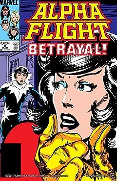 Alpha Flight (1983-1994) #8