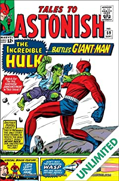 Tales to Astonish (1959-1968) #59
