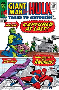 Tales to Astonish (1959-1968) #61