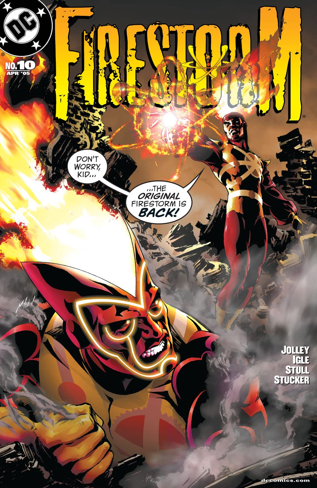 Firestorm (2004-2007) #10
