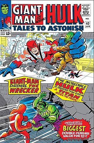 Tales to Astonish (1959-1968) #63