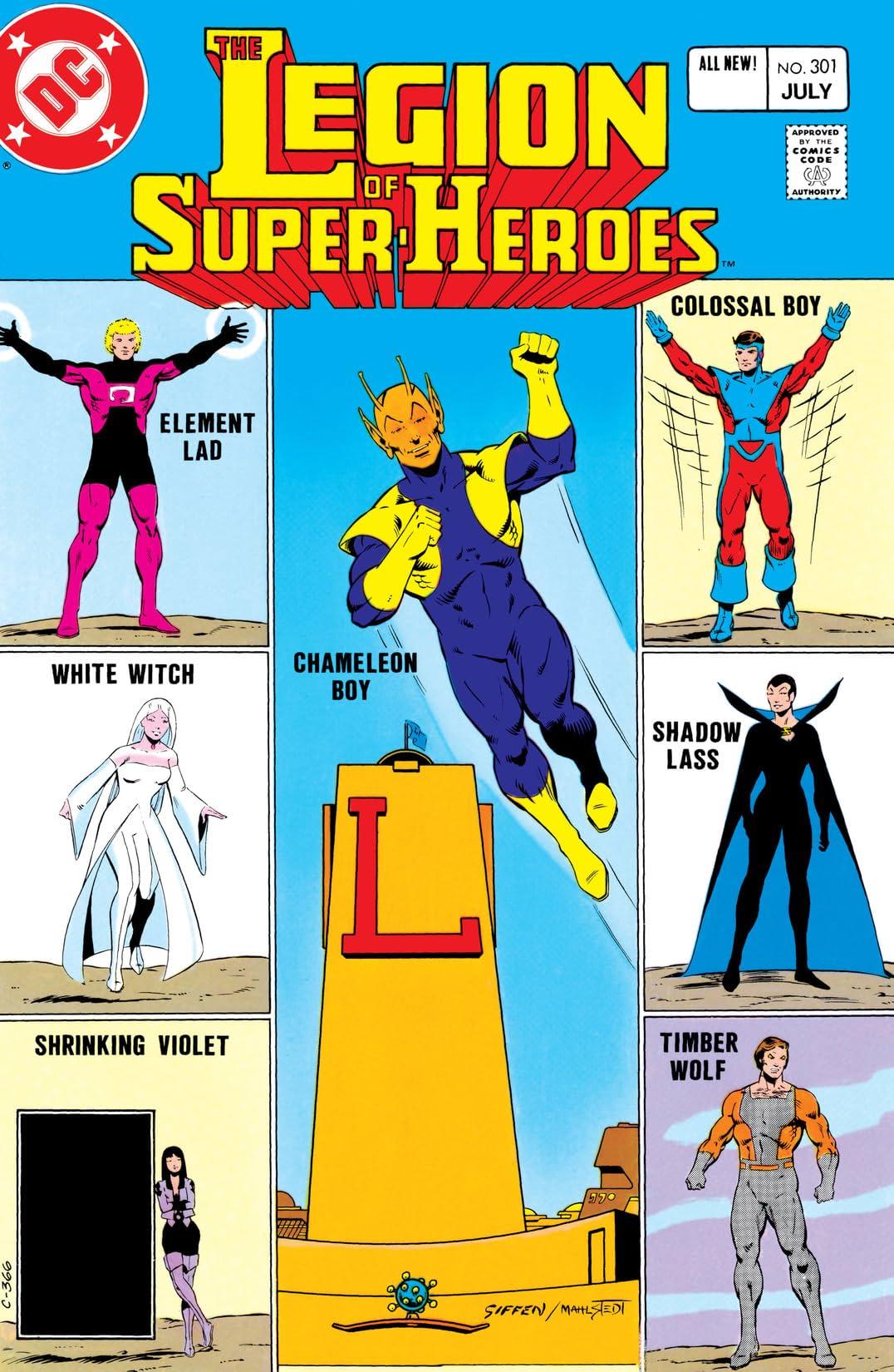 Legion of Super-Heroes (1980-1985) #301