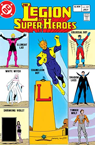 Legion of Super-Heroes (1980-1985) #301