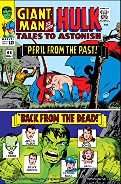 Tales to Astonish (1959-1968) #68