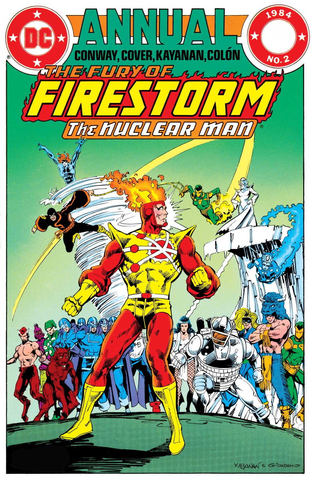 The Fury of Firestorm (1982-1990): Annual #2
