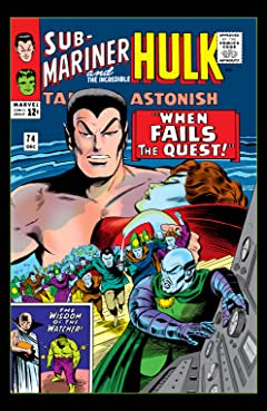 Tales to Astonish (1959-1968) #74