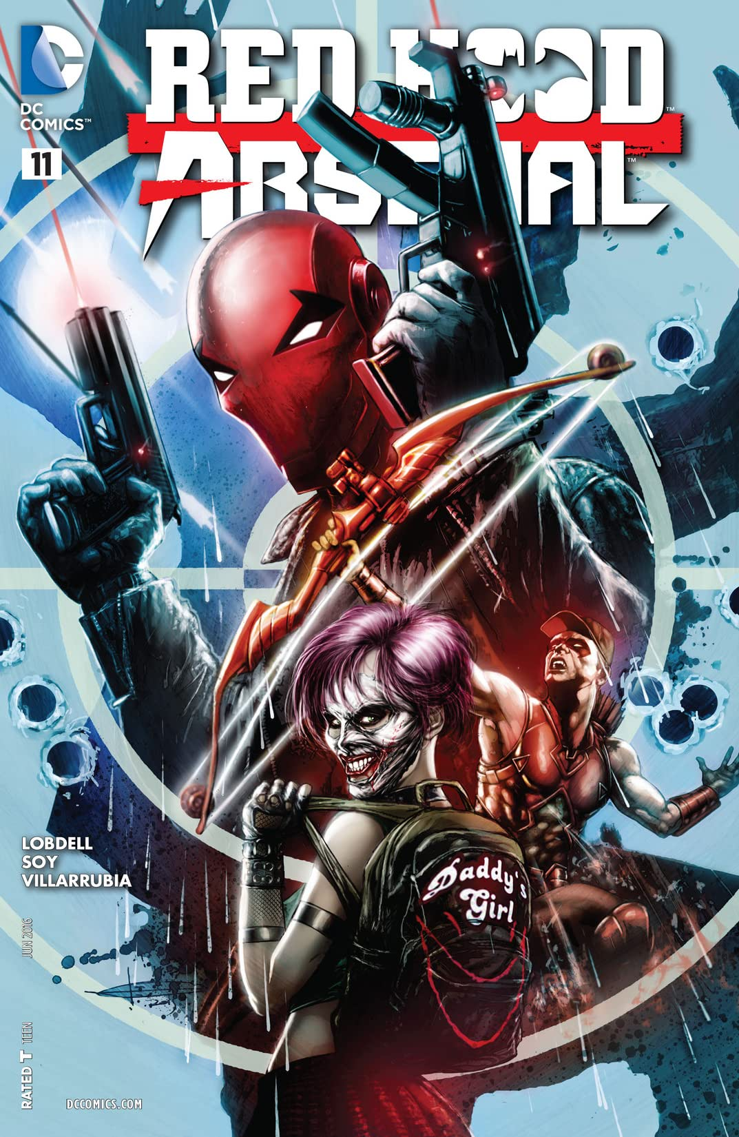 Red Hood/Arsenal (2015-2016) #11