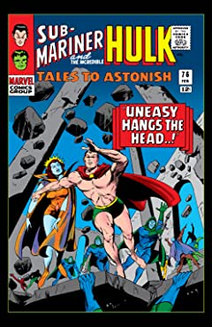 Tales to Astonish (1959-1968) #76
