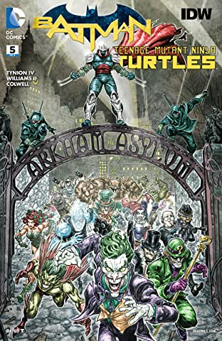 Batman/Teenage Mutant Ninja Turtles (2015-2016) #5