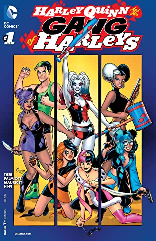 Harley Quinn and Her Gang of Harleys (2016) No.1