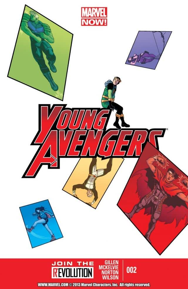 Young Avengers (2013) #2