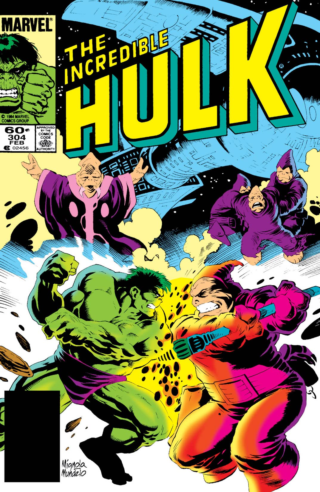 Incredible Hulk (1962-1999) #304