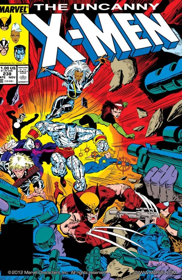 Uncanny X-Men (1963-2011) #238