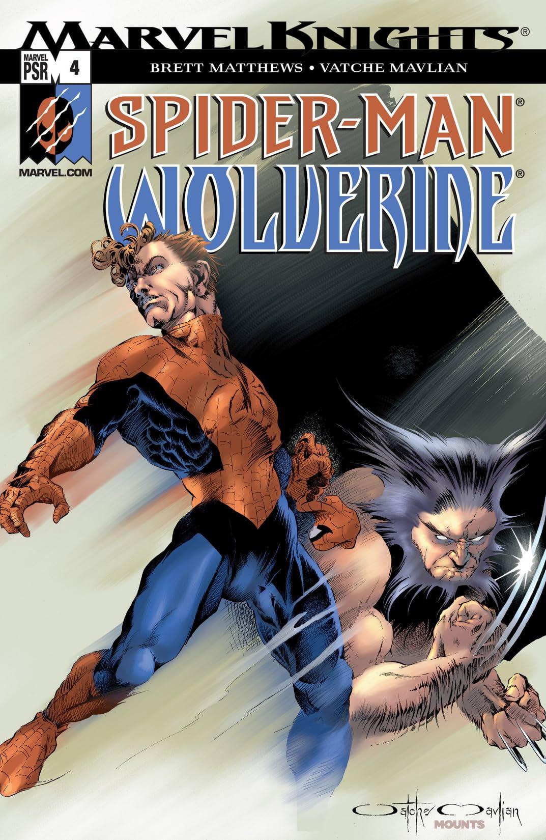 Spider-Man & Wolverine (2003) #4