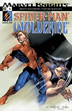 Spider-Man & Wolverine (2003) No.4