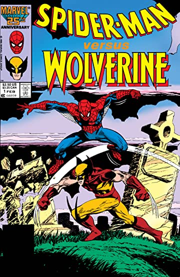 Spider-Man Versus Wolverine (1987) #1
