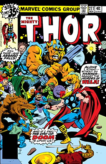 Thor (1966-1996) #277