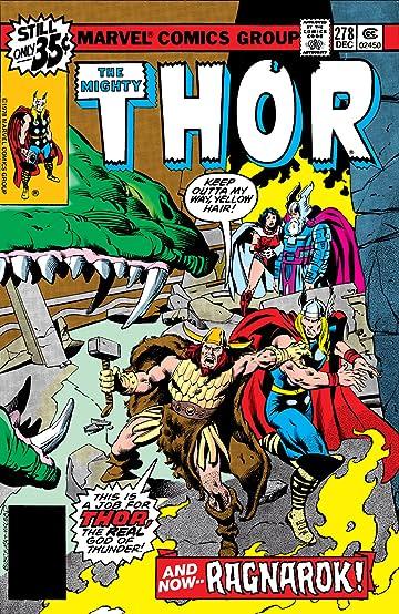 Thor (1966-1996) #278