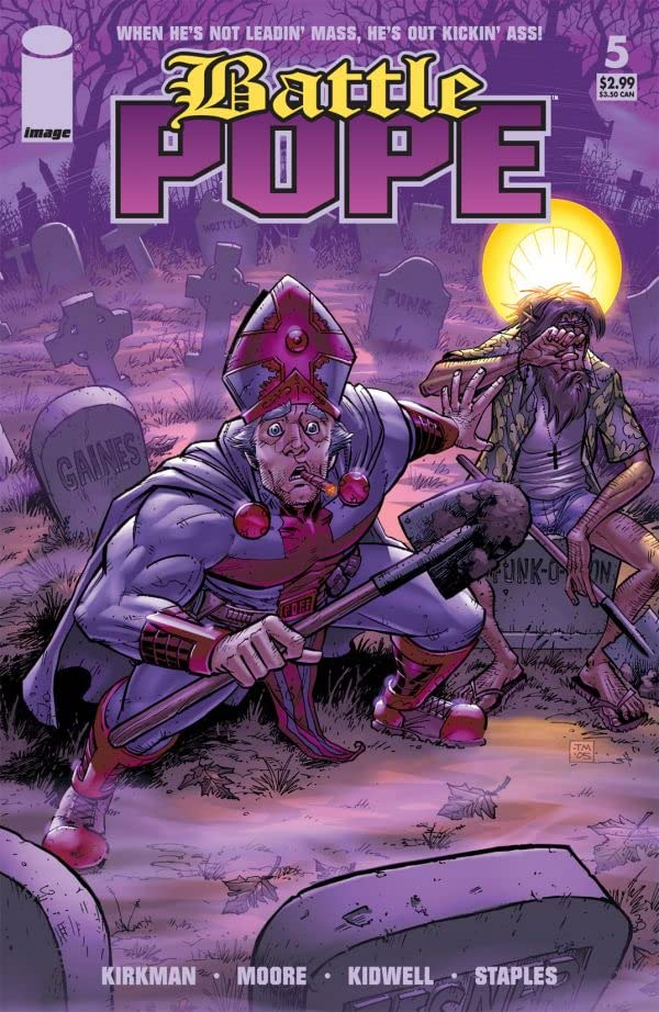Battle Pope #5