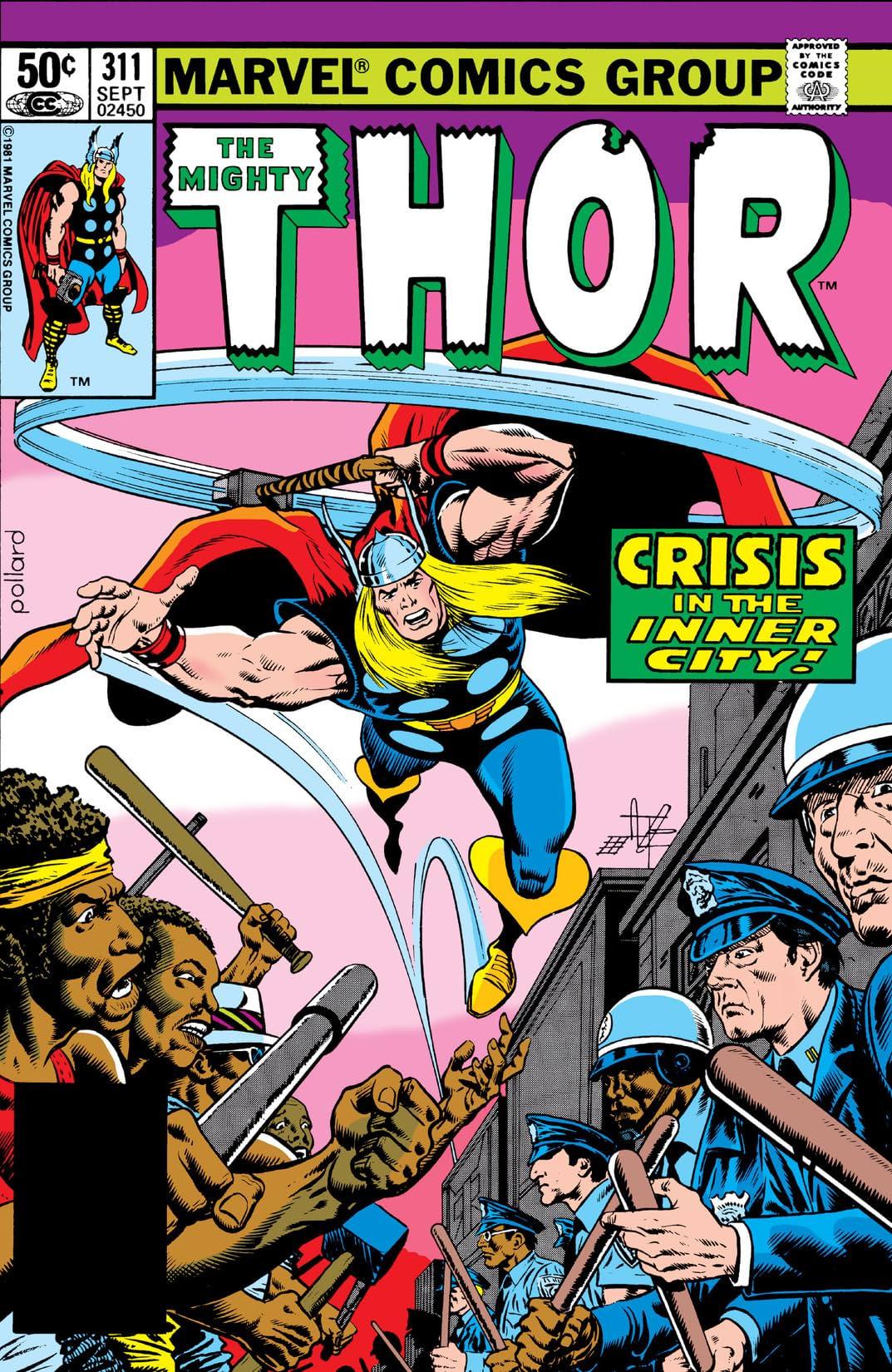 Thor (1966-1996) #311