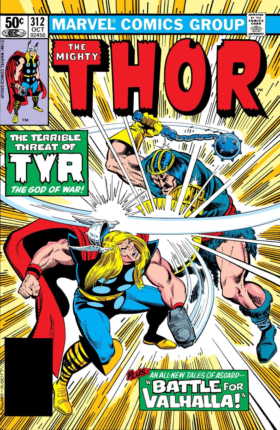 Thor (1966-1996) #312