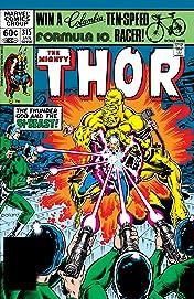 Thor (1966-1996) #315