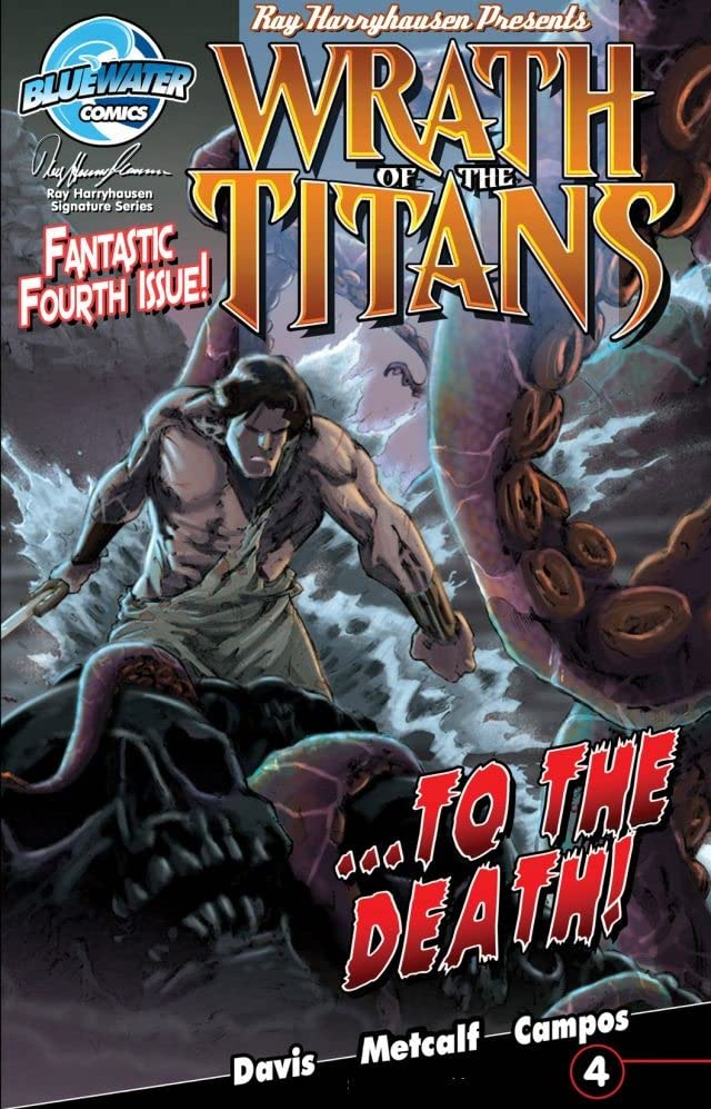 Ray Harryhausen Presents Wrath of the Titans #4 (of 4)