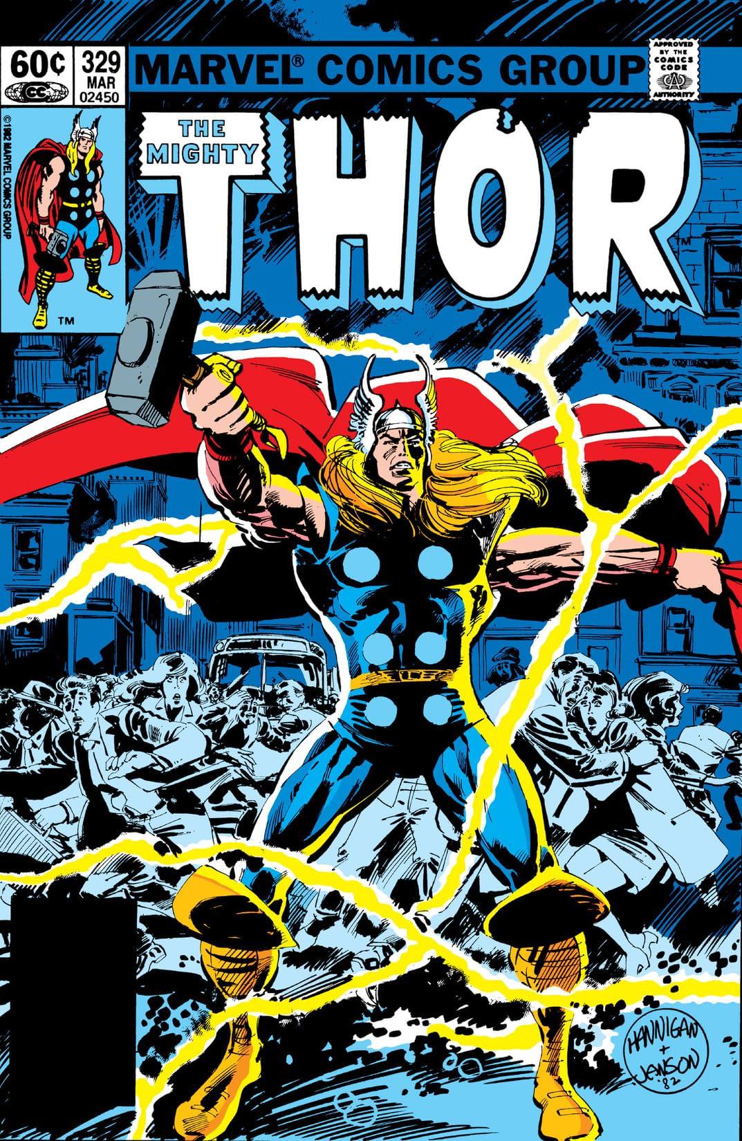 Thor (1966-1996) #329