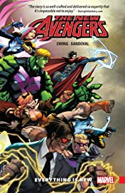 New Avengers: A.I.M. Vol. 1: Everything Is New