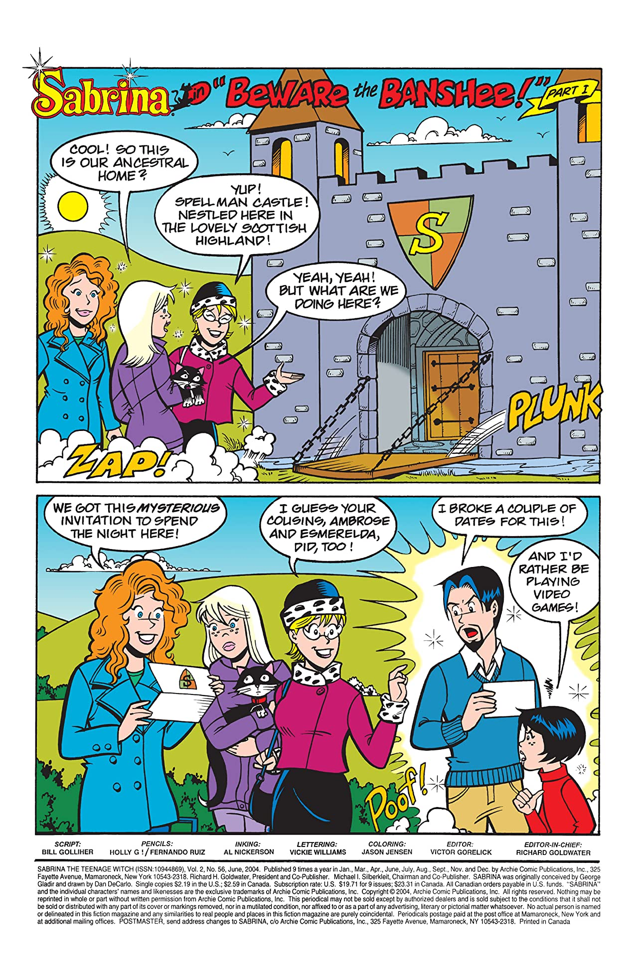 Sabrina the Teenage Witch #56