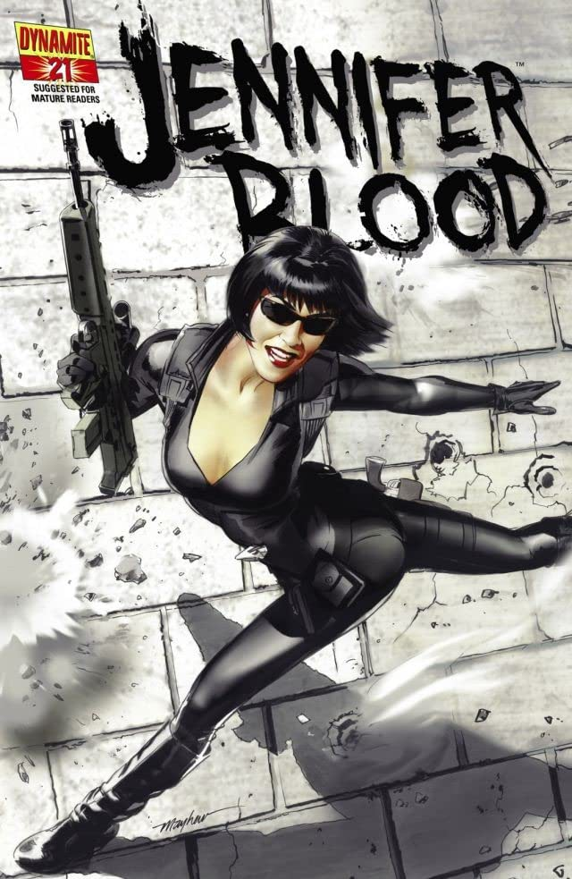 Garth Ennis' Jennifer Blood #21