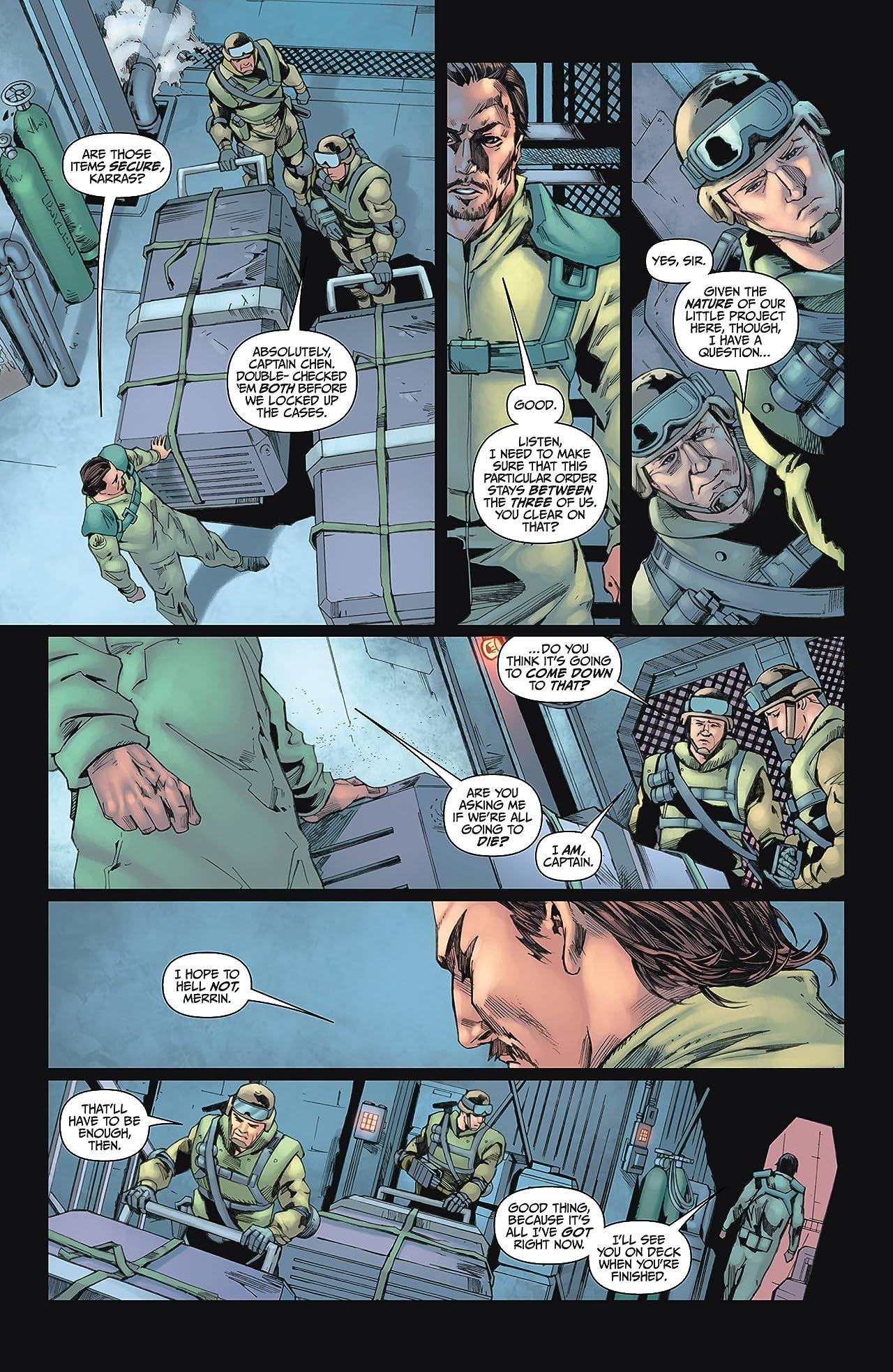 Battlestar Galactica #4 (of 4): Ghosts