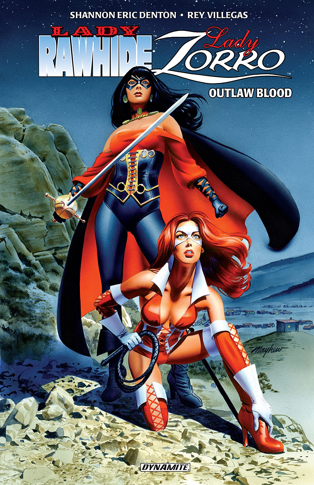 Lady Rawhide/Lady Zorro: Outlaw Blood